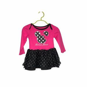 Disney Baby Girls Minnie Mouse Dress Pink 18 month